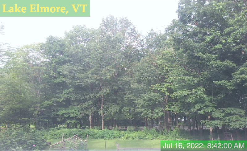 Lake Elmore, Vermont Webcam